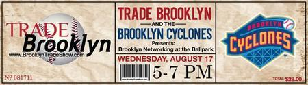 Trade Brooklyn Networking at the Ballpark