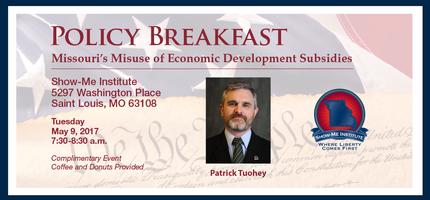 Policy Breakfast: Missouri's Misuse of Economic...