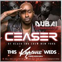 THIS WEDNESDAY CEASER OF THE BLACK INK CREW NEW YORK @...
