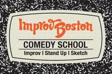 ImprovBoston Comedy School logo