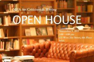 MFA Art Criticism and Writing Open House and Informatio...