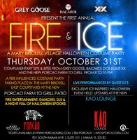 Grey Goose, Bacardi, Dos Equis XX present: Fire and...