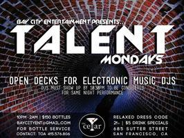 Talent Mondays @ The Cellar