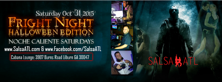 Halloween Salsa Latin Night Atlanta Saturday Oct 31,...