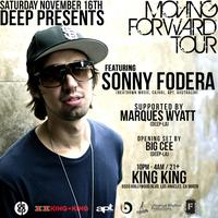 "DEEP-LA presents SONNY FODERA ""Moving Forward"" Tour"