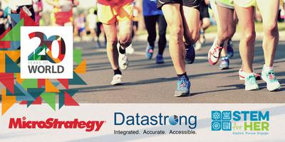 MicroStrategy's At The Table and Datastrong 5K for STEM