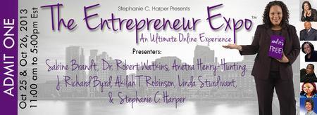 {Stephanie C. Harper presents}  The Entrepreneur Expo