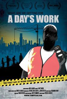 """Temp Film LLC - """"A Day's Work"""" documentary film logo"""