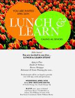 Senior Citizen Lunch & Learn Spring Event
