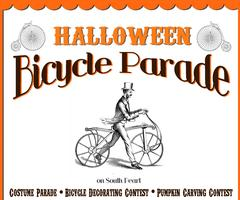 Aiko Pops Halloween Bicycle Parade Down Pearl St!