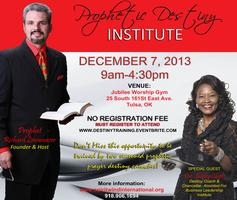 Prophetic Destiny Training
