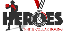 Heroes for 6 Minutes White Collar Boxing  logo