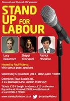 Stand up for Labour Greenwich
