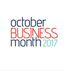 October Business Month logo