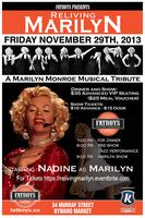 RELIVING MARILYN - A MARILYN MONROE MUSICAL TRIBUTE