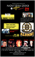 Boston Bruins Alumni with Boston Comedy AllStars