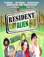 RESIDENT ALIEN COMEDY STAGE PLAY