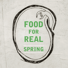 Food For Real: Spring 2018 logo