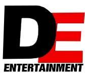 DE ENTERTAINMENT logo