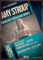 Cause A Scene Presents: Amy Stroup, The Inlaws, Buster...