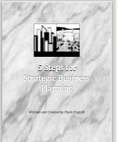 5 Steps for Strategic Business Planning Workbook
