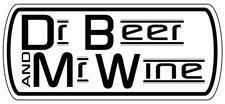 Dr Beer and Mr Wine logo