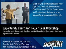 Opportunity Board and Power Book Workshop