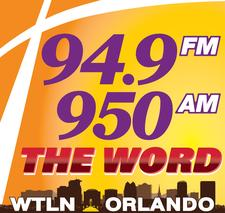 94.9 FM - AM 950 The WORD logo