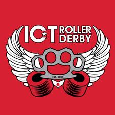 ICT Roller Derby logo