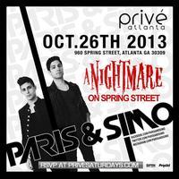 PRIVÉ Saturdays Presents Nightmare on Spring Street ::...