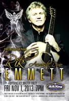 RIK EMMETT of TRIUMPH Acoustic Duo with sp. guest...