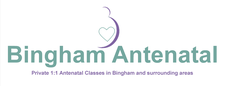 Bingham Antenatal - Antenatal & Parenting Classes by Tina Gibbs logo
