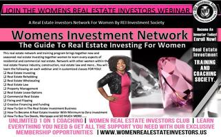 Women's Real Estate Investors Club - Real Estate...