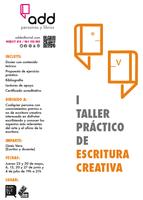 I TALLER PRÁCTICO DE ESCRITURA CREATIVA