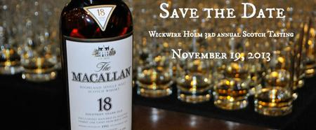 3rd Annual Wickwire Holm Scotch Tasting in Support of...