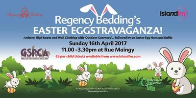 Island FM Easter Eggtravaganza with Regency Bedding...