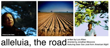 """""""Alleluia, The Road"""" and Post Show Reception"""