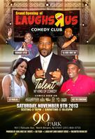 Grand Opening of Laughs Я Us Comedy Club ' NJ @ 90...