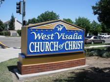 West Visalia Church of Christ logo