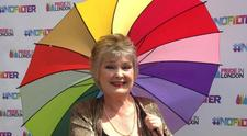LGBT Poet Laureate         Trudy Howson logo