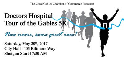 Doctors Hospital 22nd Annual Tour of the Gables 5K
