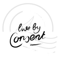 Live By Consent logo