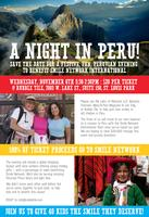 A Night in Peru -A  fundraiser for Smile Network