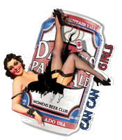 Oskar Blues Can Can Girls July - Beery Cocktails