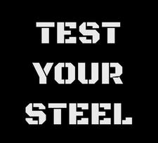 Test Your Steel logo