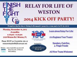 Relay For Life of Weston Kick Off Event