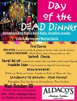 DIA DE LOS MUERTO - 4 Course dinner!