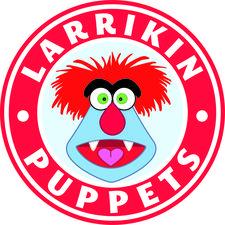 Larrikin Puppets / Brett Hansen logo