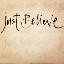 Just Believe logo