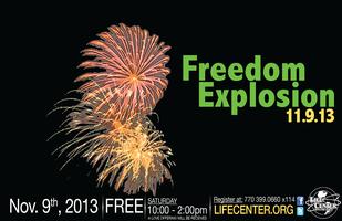 Freedom Explosion | Nov 9, 2013 - FREE!